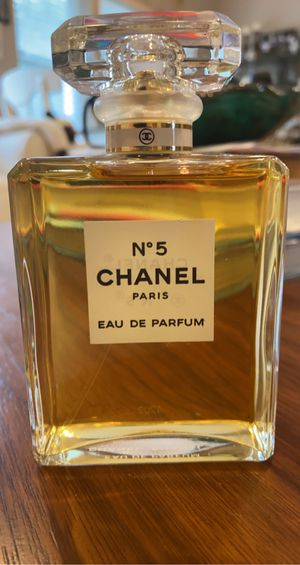 3.4 fl oz Chanel No. 5 Perfume for Sale in Bayville, NY