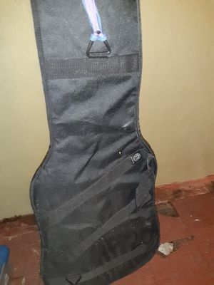Electric guitar gig bag with bonus guitar strap for Sale in Florissant, MO