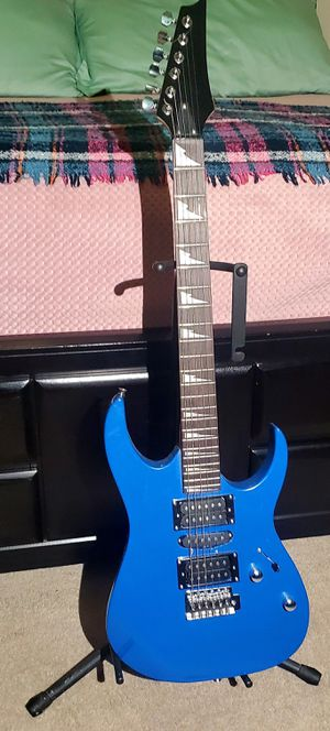 BLUE ELECTRIC GUITAR for Sale in Raleigh, NC