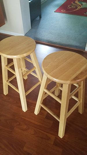 Wooden bar stool for Sale in Martinsburg, WV