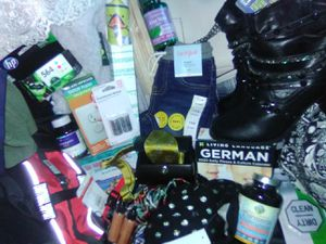 I have a huge lot of new items over 800dollars worth of new items.Body jewelry 130 ,Boots100steve Madden purse 80.Clothes that cost from 30-60 for Sale in Everett, WA
