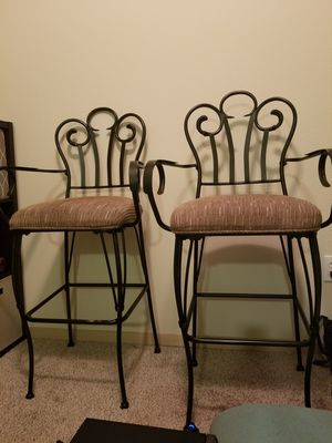 antique/vintage design bar chairs for Sale in Seattle, WA