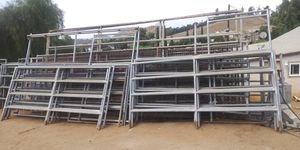 Horse corral 40ft round pen 10ft long panels $1050 for Sale in Riverside, CA