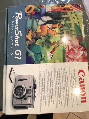 Canon PowerSot G1 Digital Camera for Sale in Irvine, CA