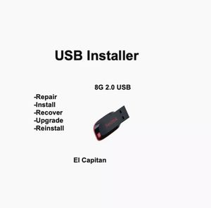 El Capitan 10.11 Bootable USB Flash Drive OS X Installer for Sale in Redford Charter Township, MI
