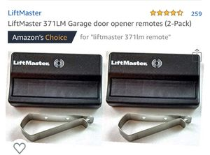 LiftMaster garage door opener remotes for Sale in Cottonwood Shores, TX