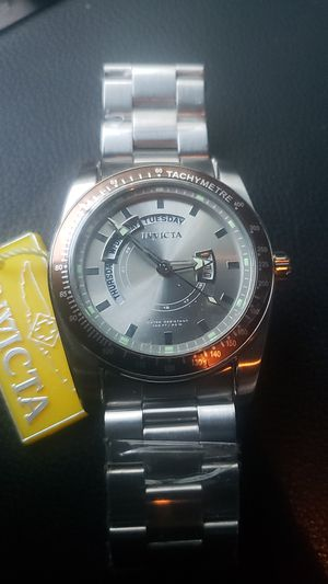 Invicta stainless steel watch for Sale in Alameda, CA