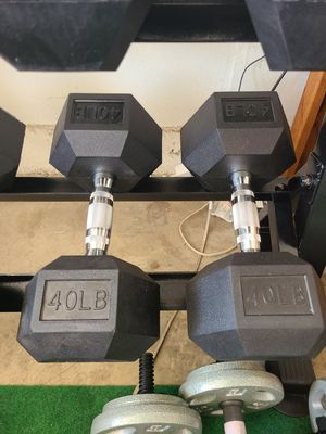 40lb Dumbbells New for Sale in Garden Grove, CA