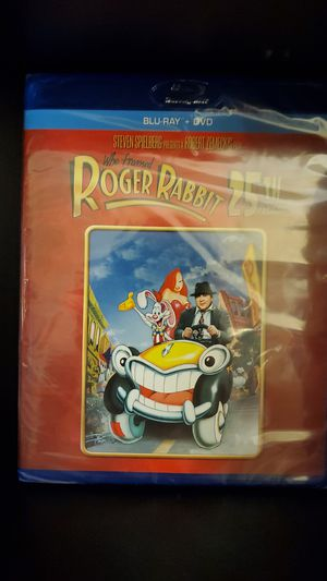 Who Framed Roger Rabbit 25th Anniversary Blu-ray + DVD. ONLY $7 new and sealed for Sale in Rancho Cucamonga, CA