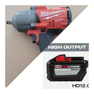 Milwaukee M18 HighTorque 1/2in Impact + BATTERY for Sale in Baltimore, MD