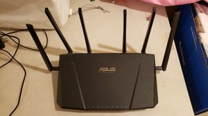 Asus ac3200 triband wiress router for Sale in Sellersburg, IN