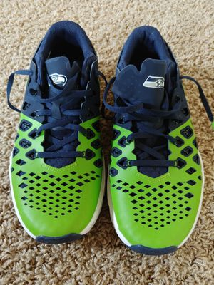 Men's Nike Seahawks shoes, Size 9 for Sale in Bothell, WA