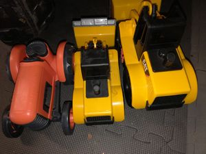 Set of 3 play trucks 2 make noise, pick up in Lakewood for Sale in Denver, CO