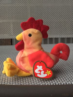 "TY Beanie Babie, ""Strut the Rooster"" for Sale in Orland Park, IL"