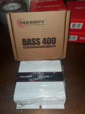 TARAMPS BASS 400 2 OHM THATS 400WATTS RMS BASS AMPLIFIER FOR SUBWOOFER for Sale in The Bronx, NY