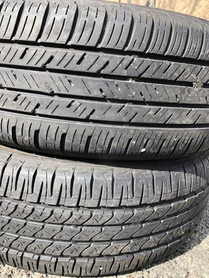 Two used tire 215/60R17 one FIRESTONE end one FALKEN two used tire $70 for Sale in Alexandria, VA