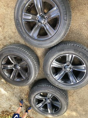 Ram OEM wheels and tires almost new for Sale in Boca Raton, FL