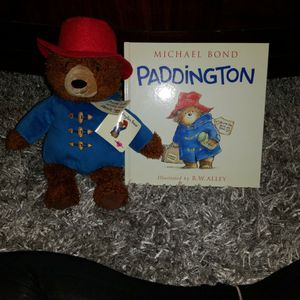 Paddington Bear and Book For Kids for Sale in Baytown, TX