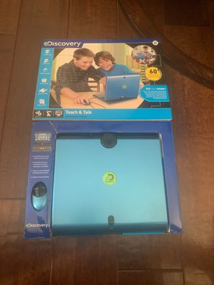 Discovery teach and talk kids laptop for Sale in Chino Hills, CA