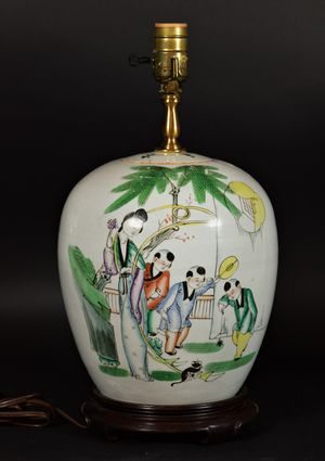 Antique Chinese Vase Table Lamp for Sale in Lucas, TX