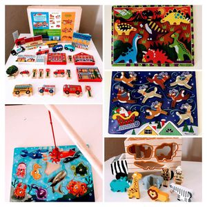 Melissa & Doug Wooden Puzzles for Sale in Goodyear, AZ