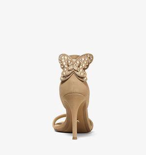 Michael Kors Beverly Butterfly heels beige, size 9 for Sale in Buckeye, AZ