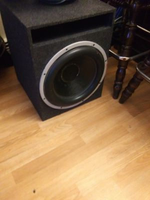 """15"""" lanzar opti. Subwoofer for Sale in North Brunswick Township, NJ"""