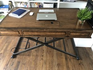 Sit stand desk for Sale in West Bloomfield Township, MI