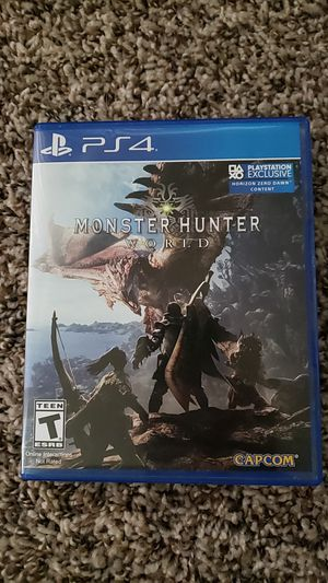 Monster Hunter: World (PS4) for Sale in Indianapolis, IN