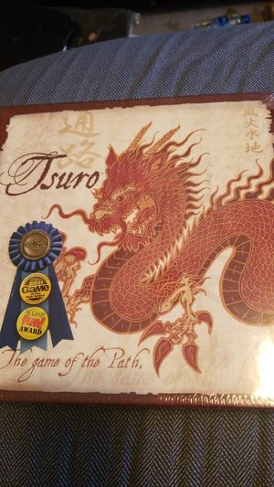 Tsuro the game of the path board game. for Sale in Benson, NC