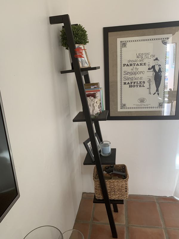 IKEA ladder book shelf