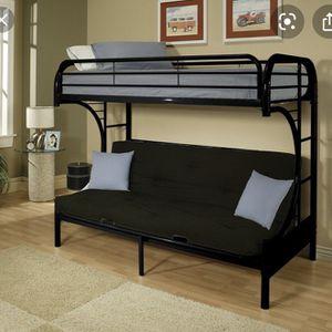 Loft Bed W/full Size Futon Sleeper for Sale in Auburn, WA