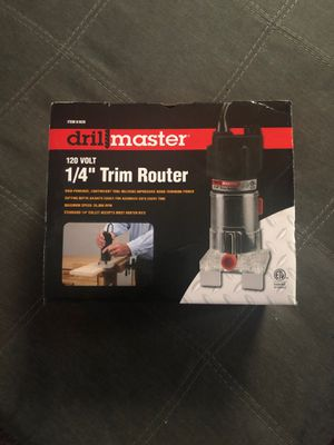 Drill master 1/4 inch trim router for Sale in Worcester, MA