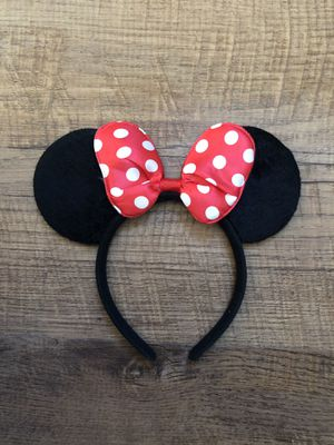 Adult Disney Minnie Mouse Ears Headband for Sale in Nashville, TN