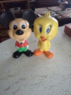 Mattel talking mickey mouse and tweety bird. for Sale in San Jose, CA