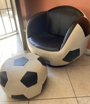 Chair for kids soccer ball ⚽️ shape for Sale in San Diego, CA