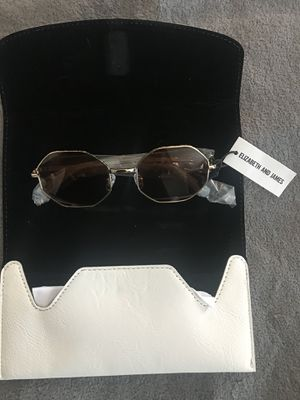 Elizabeth and James octagon sunglasses metal frame for Sale in Columbus, OH