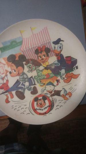 Vintage Walt Disney Sun ValleyMelmac PLATE E .C Walt Disney for Sale in Pacific, WA