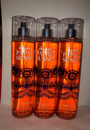Agave papaya sunset fragrance mist sprays for Sale in Aurora, IL