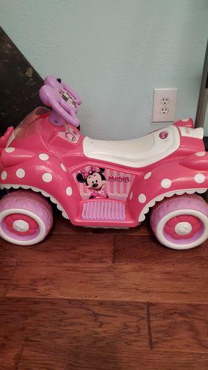 Minnie mouse motorized bike for Sale in Abilene, TX