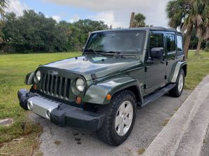 Jeep wrangler 2008 good condition everything works for Sale in West Palm Beach, FL