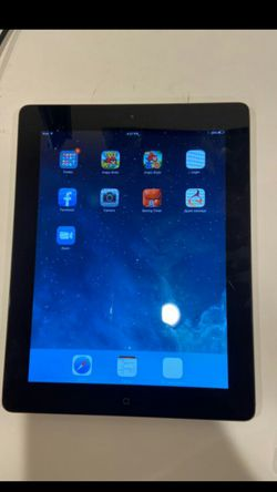 Apple ipad 2 16gb unlocked no cloud ready to use for Sale in Los Angeles,  CA