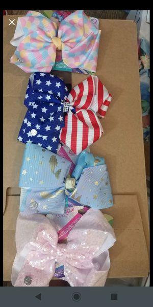 4 Jojo Siwa Bows for Sale in Huntsville, AL