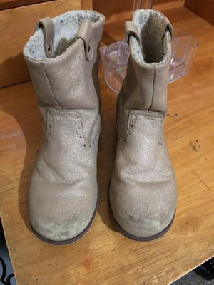 Girls Gold boots for Sale in Philadelphia, PA