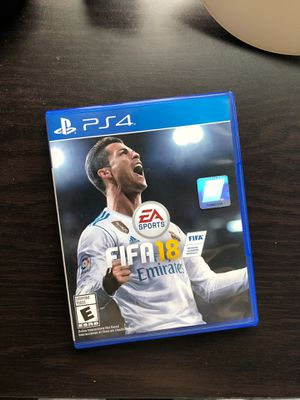 Fifa 18 PS4 for Sale in Morgantown, WV