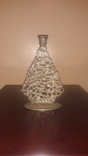 VINTAGE Christmas Candle Holder for Sale in Hyattsville, MD