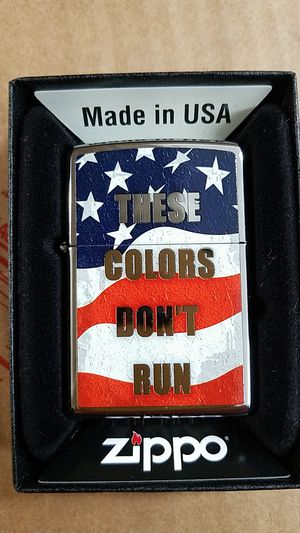 Zippo these colors don't run high polished chrome 28292 for Sale in Los Angeles, CA