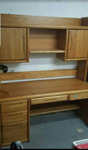 Oak office furniture for Sale in Virginia Beach, VA
