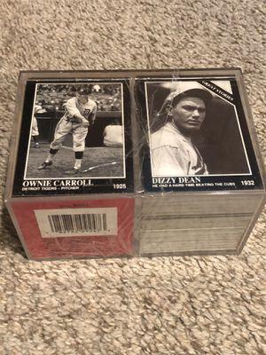 1992 Conlon TSN Baseball Card COMPLETE FACTORY SET Babe Ruth Joe Jackson MINT CONDITION!!! for Sale in Chardon, OH