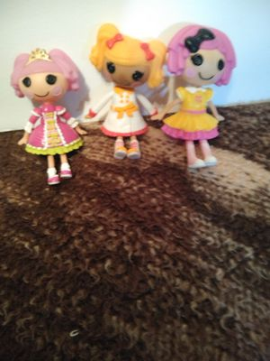 Lalaloopsy Small Dolls for Sale in San Antonio, TX